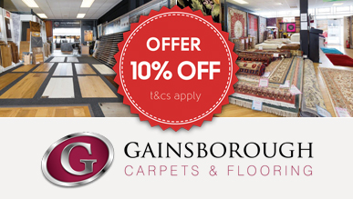 Gainsborogh Carpets - 10% OFF
