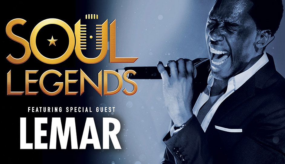 Win 2 tickets to Soul Legends at the Cliffs Pavilion