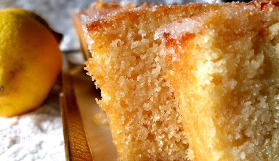 St Clements drizzle cake