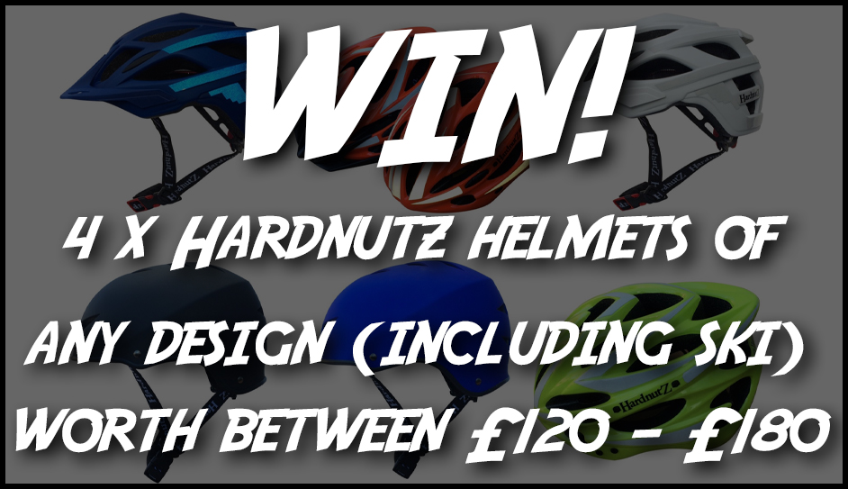 Keep your family safe, win 4 x HardnutZ helmets for cycling or skiing