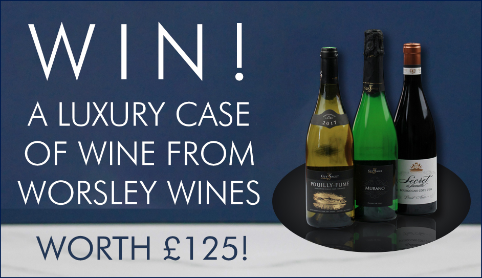 WIN a luxury case of wine from Worley Wines - worth £125!