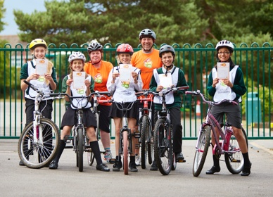 The Bikeability Trust announce winner of photo competition and £235,000 for family cycle training
