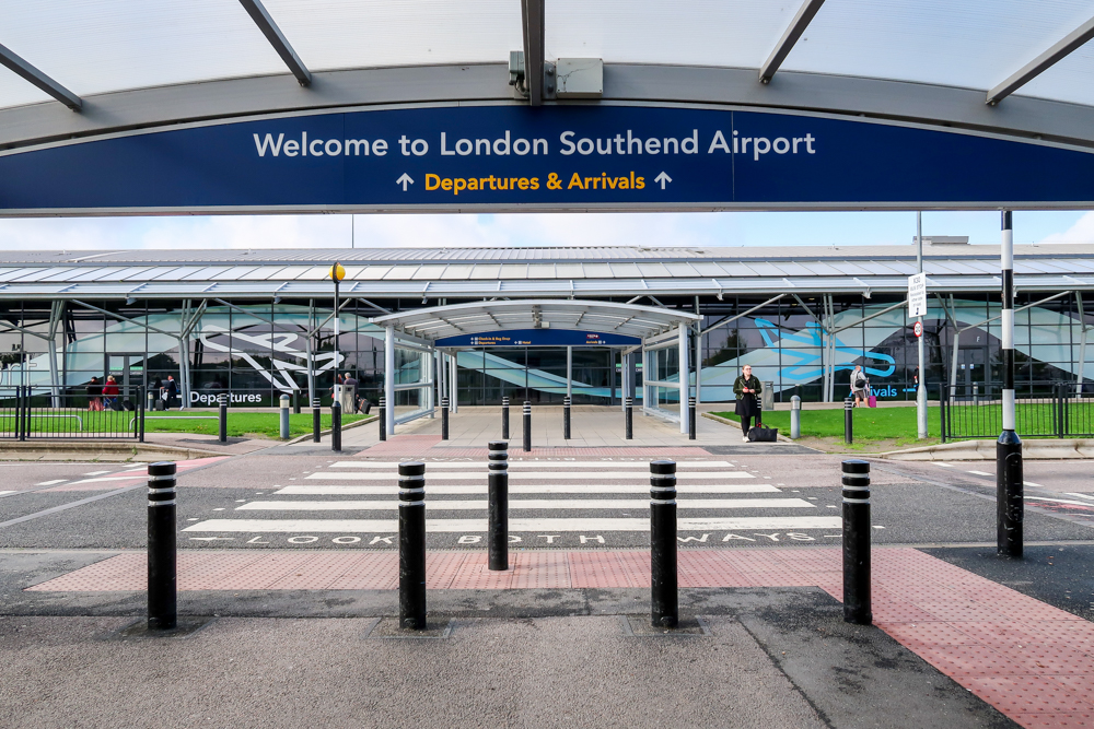 London Southend Airport welcomes passengers back for festive flights