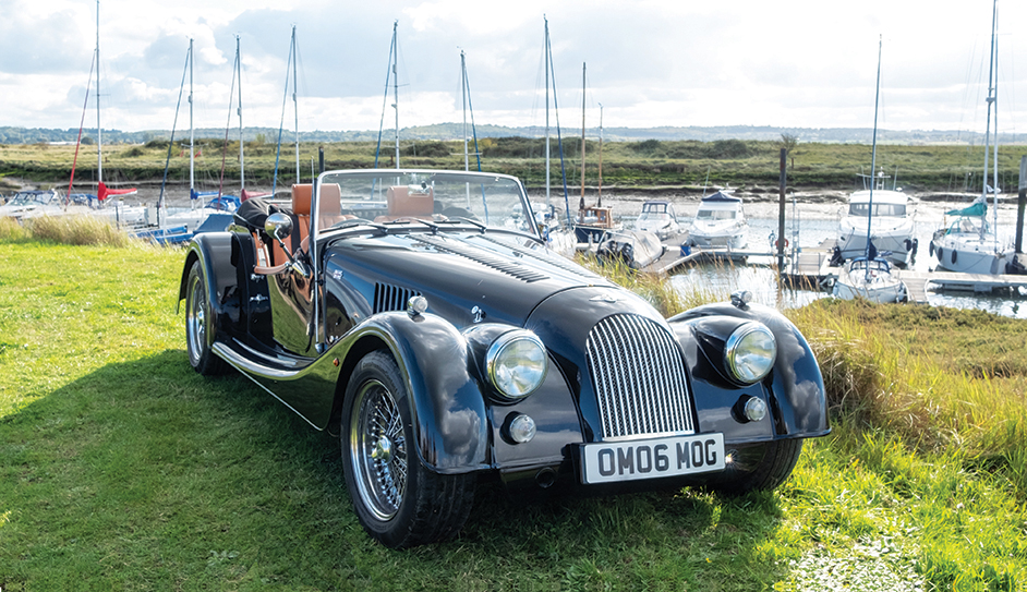 Win a self-drive day for two in a Morgan Roadster V6! Worth £399!!