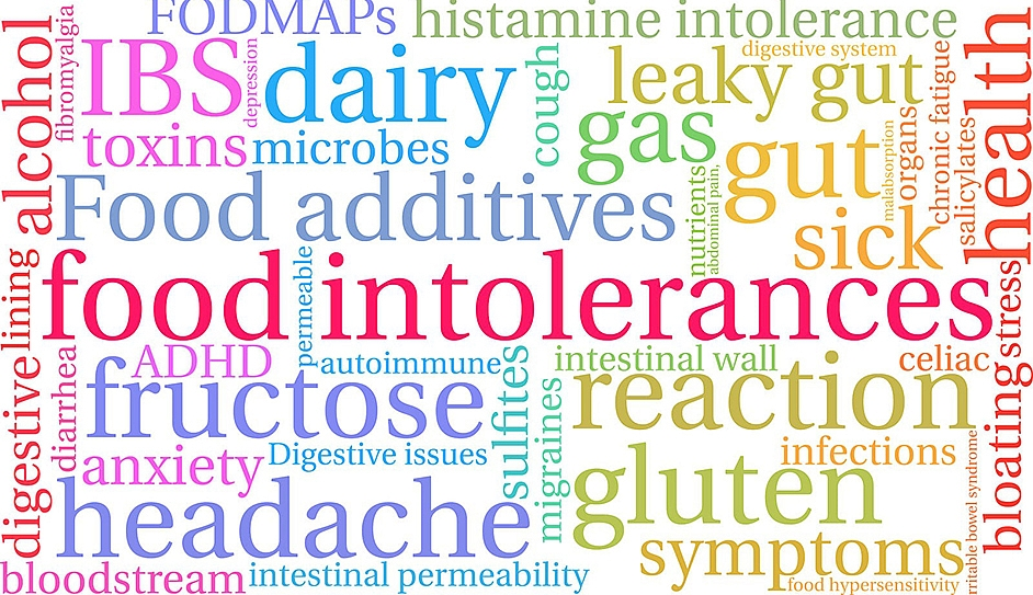 How do you know what  food your body is not able to tolerate?